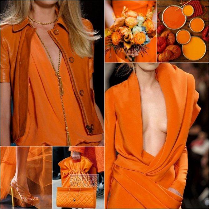 Модные цвета осень-зима 2018-2019 фото №19