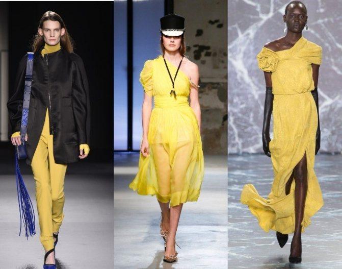 Модные цвета осень-зима 2018-2019 по версии Пантон