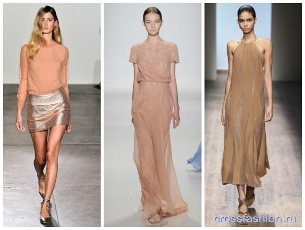 модные цвета весна-лето 2020 panton подиум