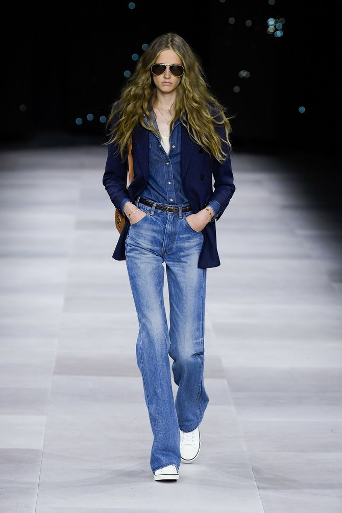 модные джинсы макси