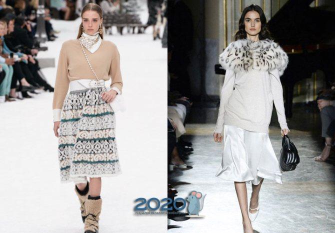 Модные кашемировые свитера осень-зима 2019-2020