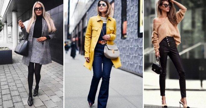 Модные луки осень 2020 – 70 фото лучших сочетаний в одежде, обуви, аксессуарах
