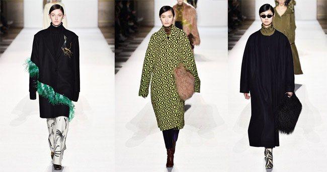 Модные пальто 2020 Dries van Noten