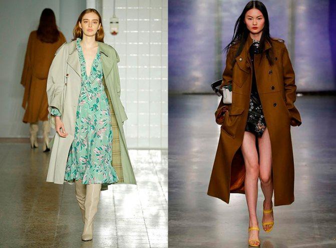 Модные плащи осень-зима 2017-2018: Erika-Cavallini,-Topshop-Unique