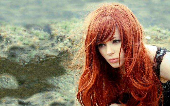 Модные прически на рыжие волосы 2020 фото