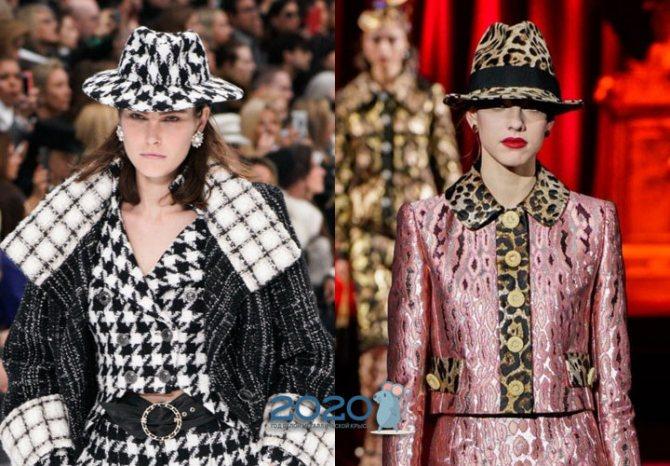 Модные шляпы на 2020 год