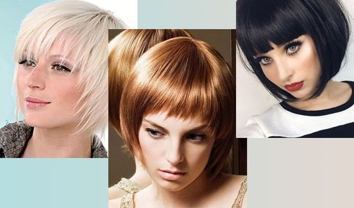Модные стрижки для тонких, редких волос средней длины с челкой и без, без укладки, с объемом. Фото 2020