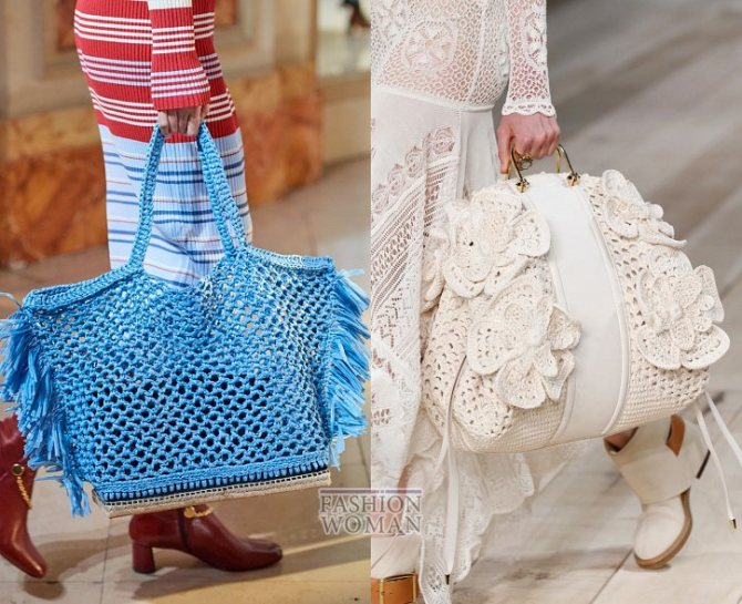 Модные сумки весна-лето 2020 фото №13