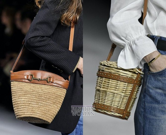 Модные сумки весна-лето 2020 фото №14