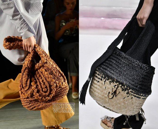 Модные сумки весна-лето 2020 фото №16