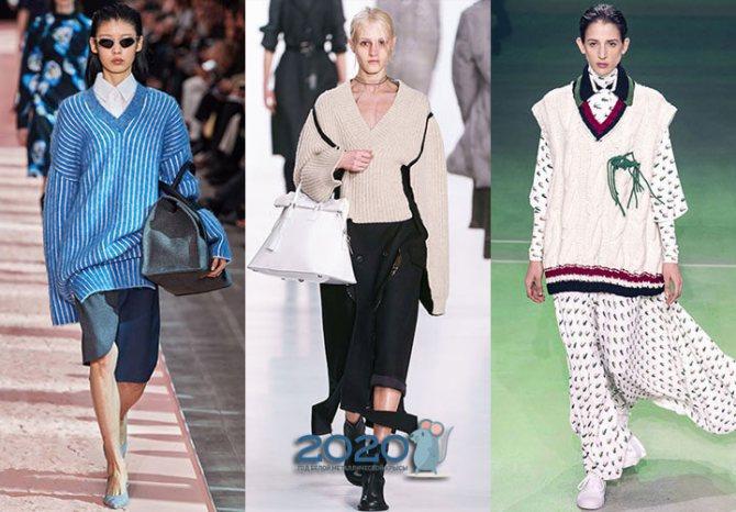 Модные свитера на 2020 год