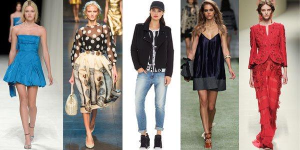 Модные тренды весна-лето 2014