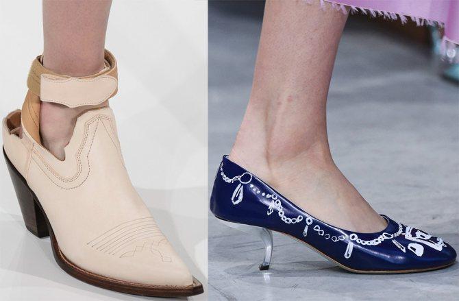 Модные туфли 2018