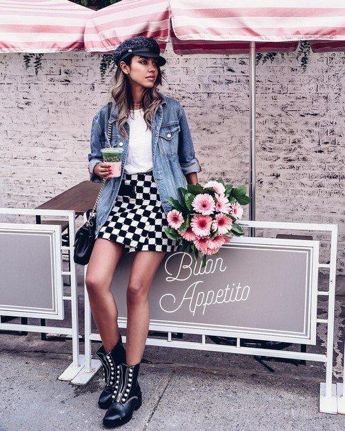 Модные юбки с запахом: готовые образы, тенденции