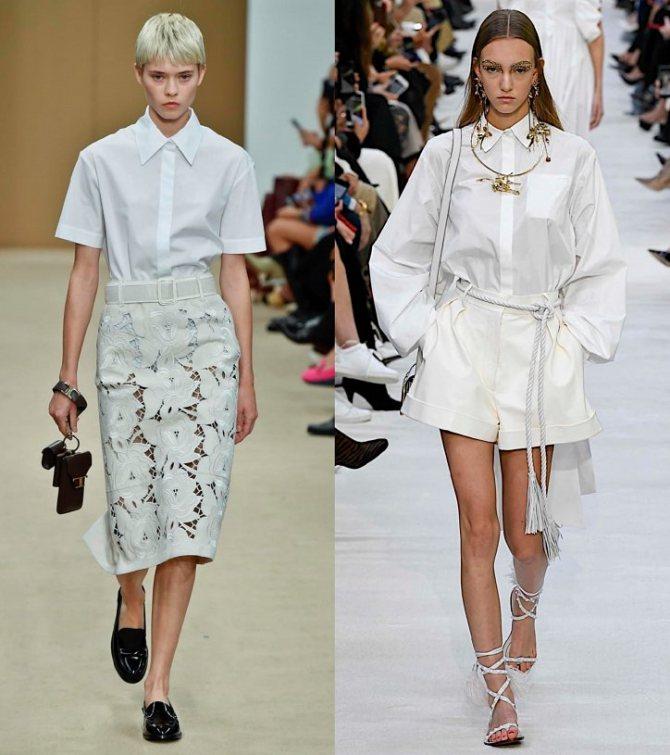 Модные женские блузки весна-лето 2020: основные тренды фото №11