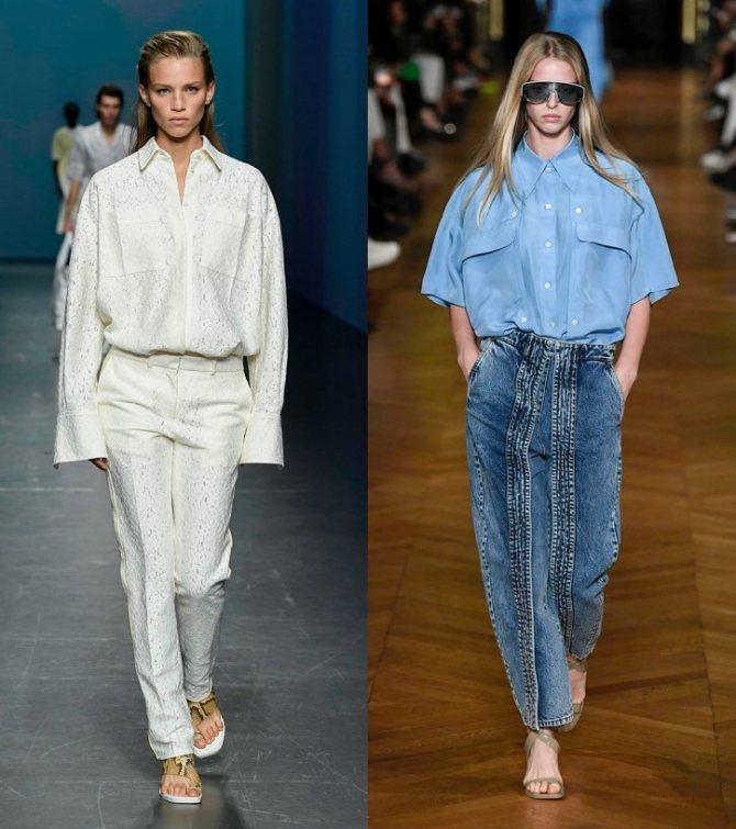 Модные женские блузки весна-лето 2020: основные тренды фото №13