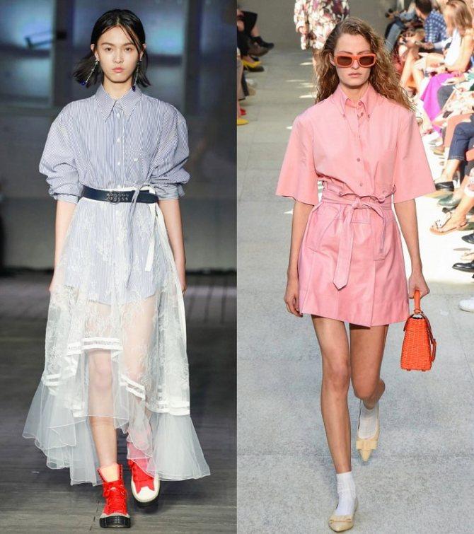Модные женские блузки весна-лето 2020: основные тренды фото №14