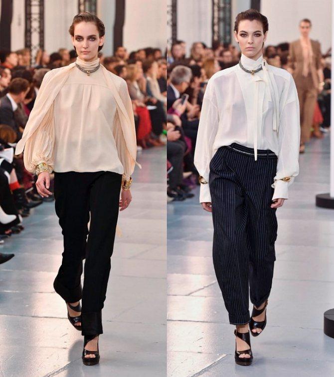 Модные женские блузки весна-лето 2020: основные тренды фото №23