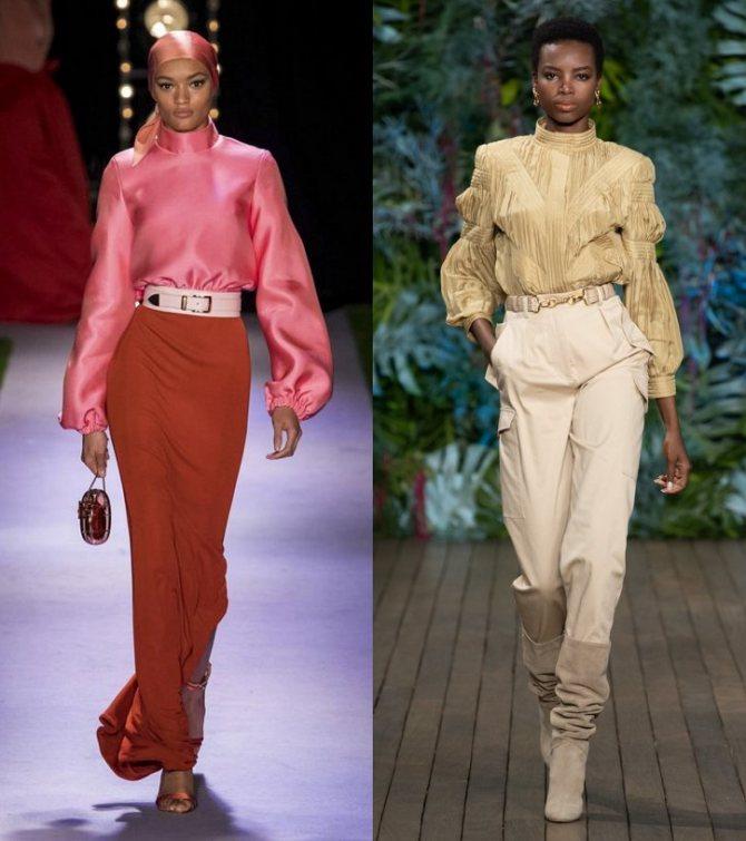 Модные женские блузки весна-лето 2020: основные тренды фото №25
