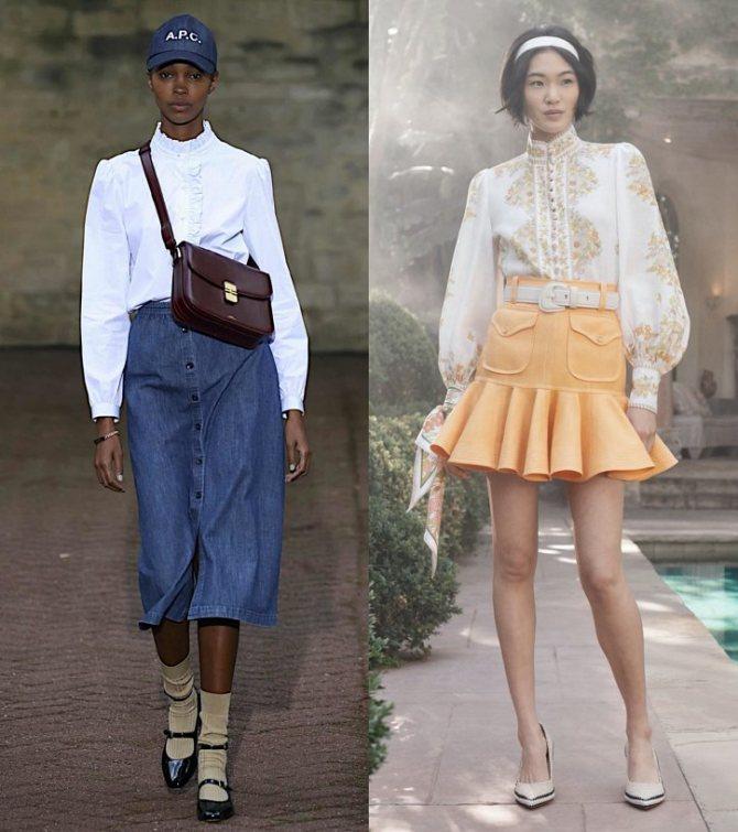 Модные женские блузки весна-лето 2020: основные тренды фото №26