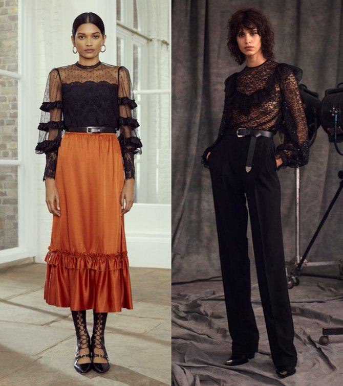 Модные женские блузки весна-лето 2020: основные тренды фото №28