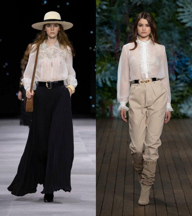 Модные женские блузки весна-лето 2020: основные тренды фото №29