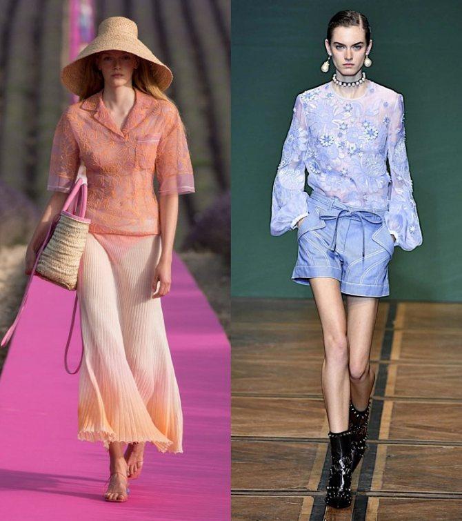 Модные женские блузки весна-лето 2020: основные тренды фото №31