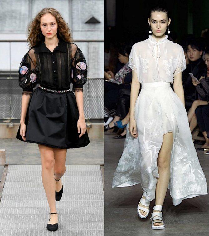 Модные женские блузки весна-лето 2020: основные тренды фото №32