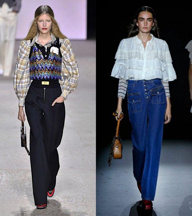 Модные женские блузки весна-лето 2020: основные тренды фото №35