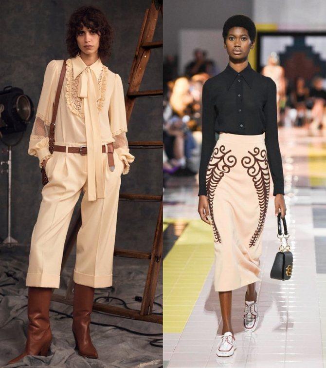 Модные женские блузки весна-лето 2020: основные тренды фото №37