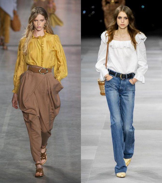 Модные женские блузки весна-лето 2020: основные тренды фото №7