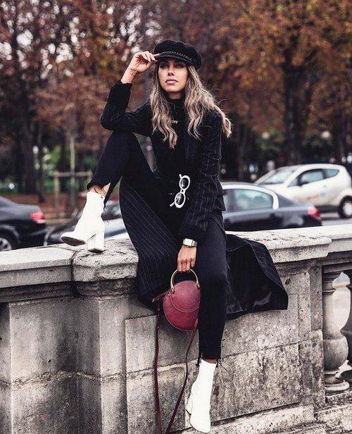 Модные женские ботинки и ботильоны: фото идеи моделей и образов