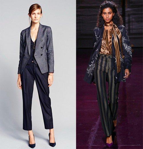 Модные женские брюки: фасоны, фото, идеи стильных образов