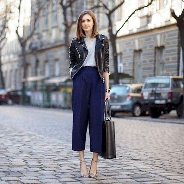 Модные женские брюки: фото модных брюк