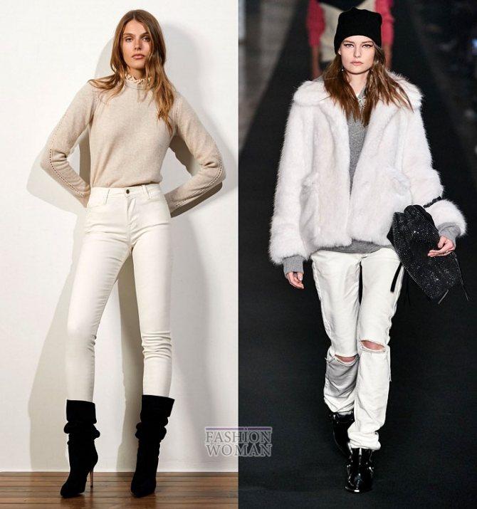 Модные женские джинсы осень-зима 2019-2020 фото №10
