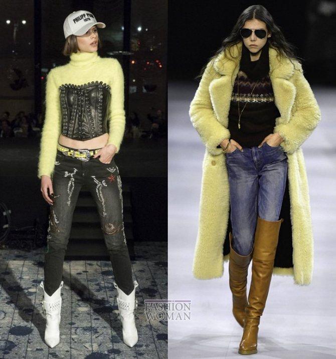 Модные женские джинсы осень-зима 2019-2020 фото №11