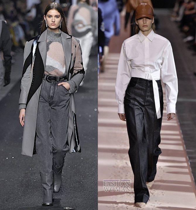 Модные женские джинсы осень-зима 2019-2020 фото №16