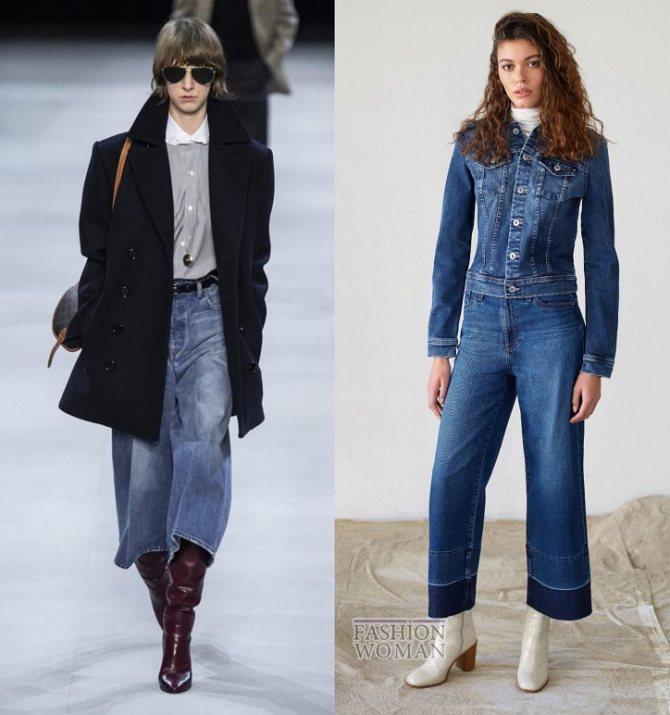 Модные женские джинсы осень-зима 2019-2020 фото №20