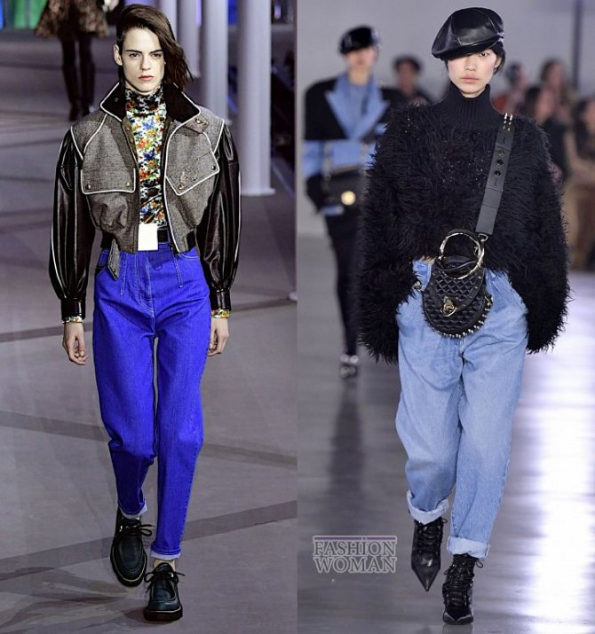 Модные женские джинсы осень-зима 2019-2020 фото №4