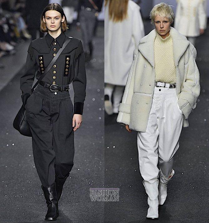 Модные женские джинсы осень-зима 2019-2020 фото №5