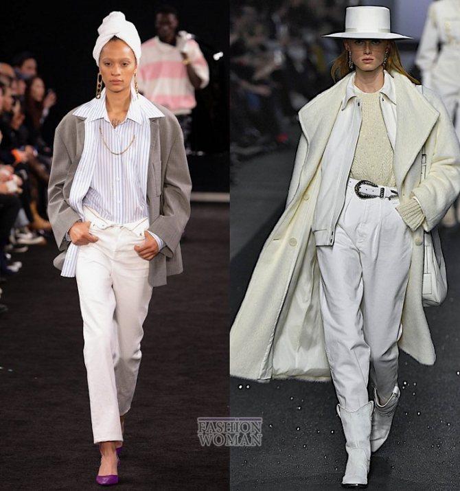 Модные женские джинсы осень-зима 2019-2020 фото №8