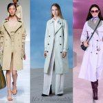 Модные женские плащи на весну 2019