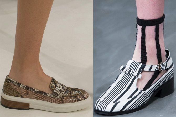 Модные женские туфли 2018