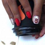 Модный красный маникюр - фото идеи красного маникюра на любой вкус