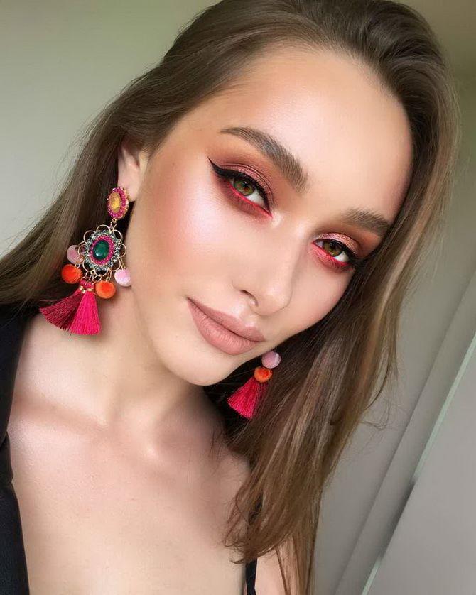 модный макияж 2020