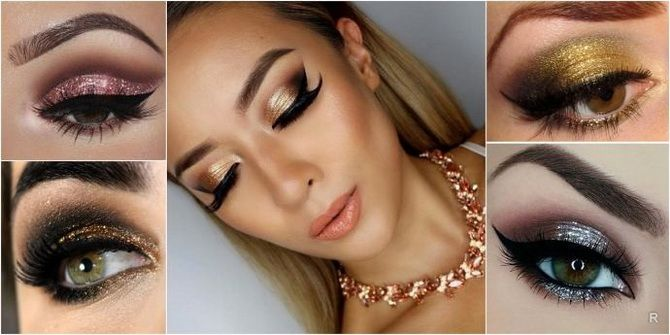 модный макияж глаз
