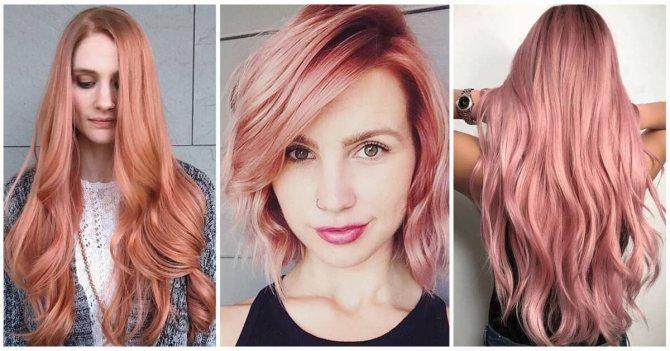 Модный рыжий цвет волос 2019-2020: много фото