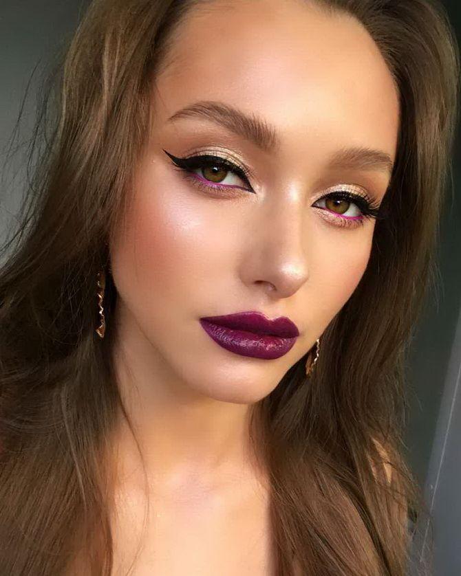 модный тренд макияж