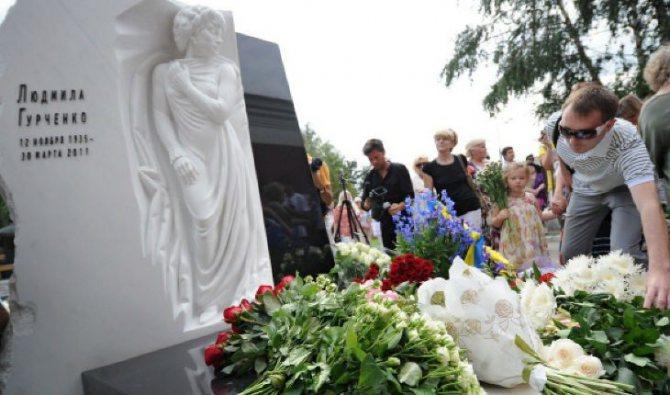 Могила Людмилы Гурченко