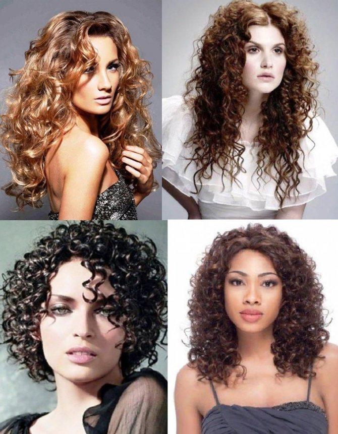 Мокрая химия на женских волосах